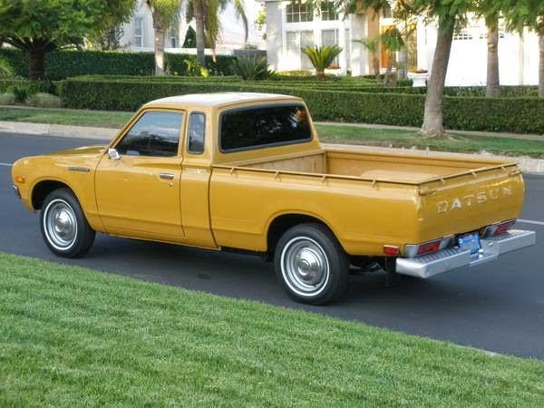 1977 Datsun 620 King Cab Auto Restorationice