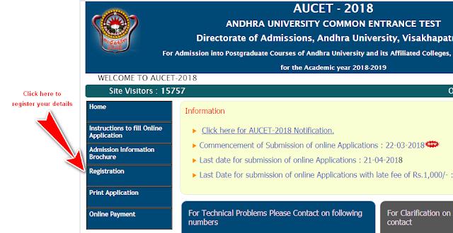 AUCET 2018 Registration