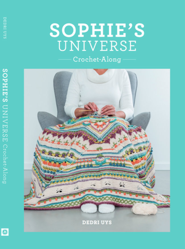 Sophie's Universe, Crochet-along Book Cover | Happy in Red