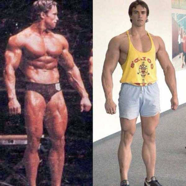 This Russian Bodybuilder Looks Exactly Like Young Arnold Schwarzenegger (12 pics)