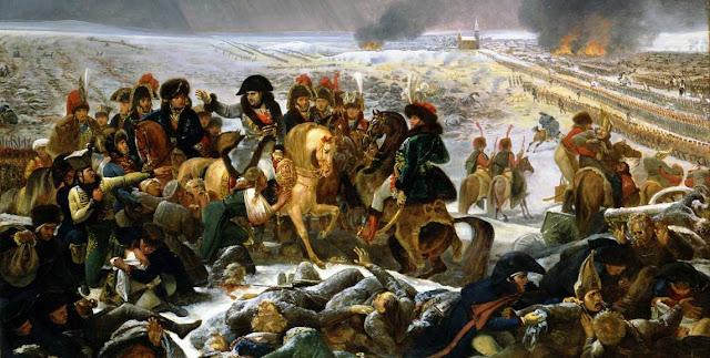 Batalla de Eylau y Napoleon Bonaparte