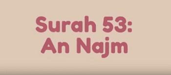 Surah An Najm termasuk kedalam golongan surat Surat | Surah An Najm Arab, Latin dan Terjemahannya
