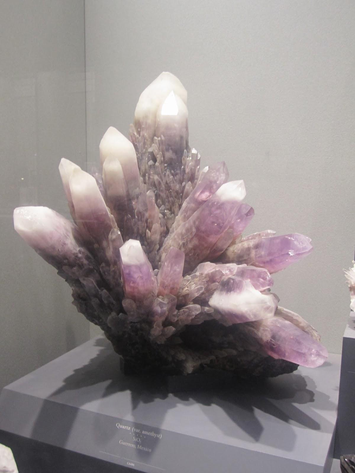 DC natural histroy museum, gem stones
