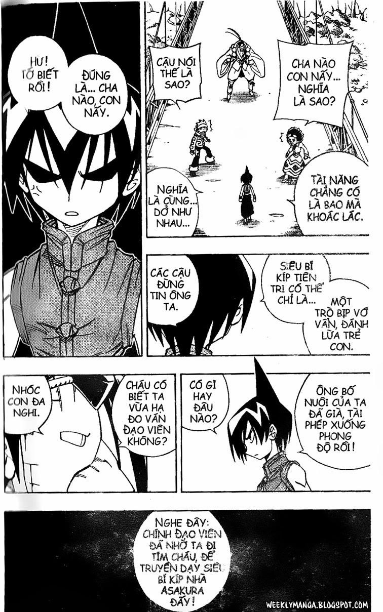 Shaman King [Vua pháp thuật] chap 145 trang 15