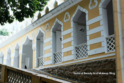 Moorish Barracks, a neoclassical mughal style architecture built to accomodate Indian Regiment from Goa in Macau