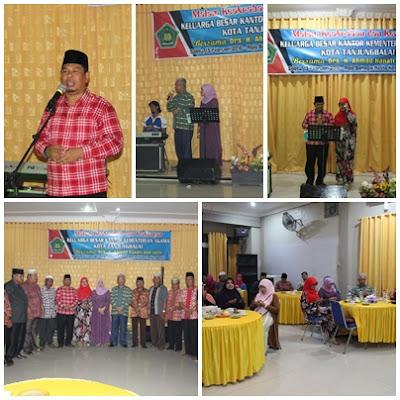 Malam Keakraban Dan Kenangan Keluarga Besar Kemenag Kota Tanjungbalai Dengan Drs. H. Ahmad Hanafi/Istri