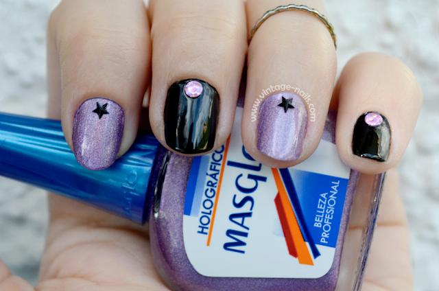 Masglo, nail art, manicura, holografico