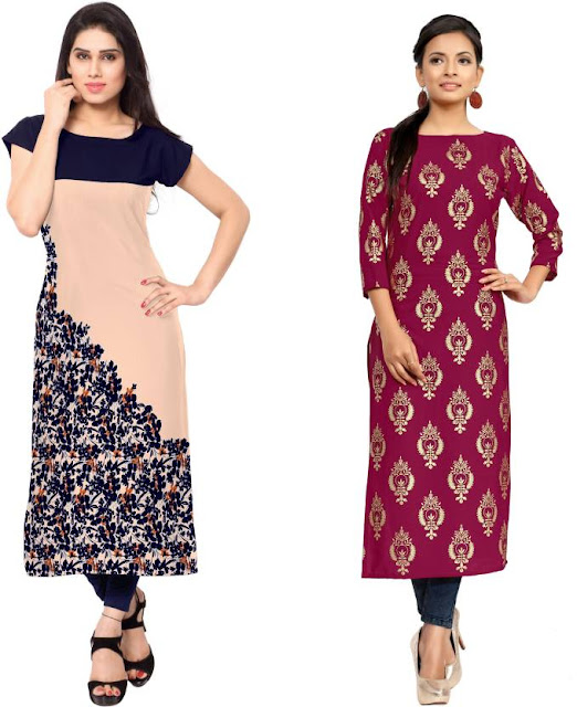 Womens kurtis combo pack for flat 60% offer from flipkart  41beb75a76