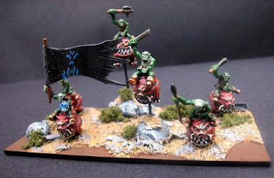 1st place: Goblin Riders, by Andy T - wins £20 Pendraken credit, and a Warband Army Pack!