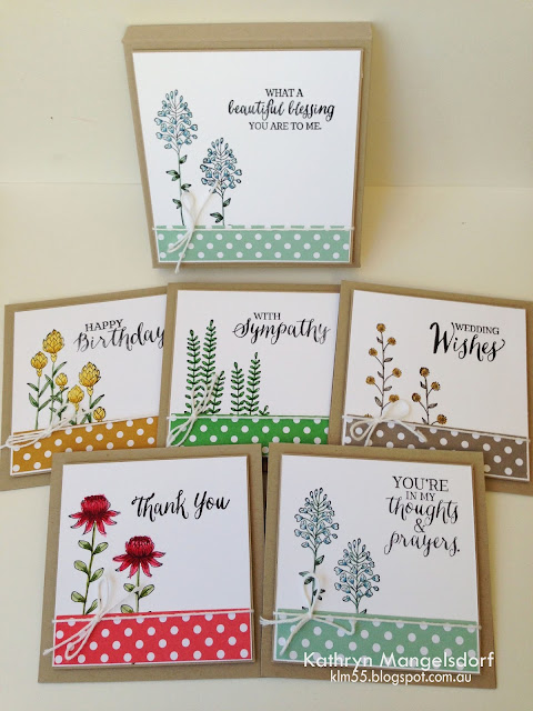 Kathryn's Stampin' World, Stampin' Up! Flowering Fields, 2016SaleABration