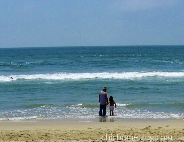 Family at Huntington Beach