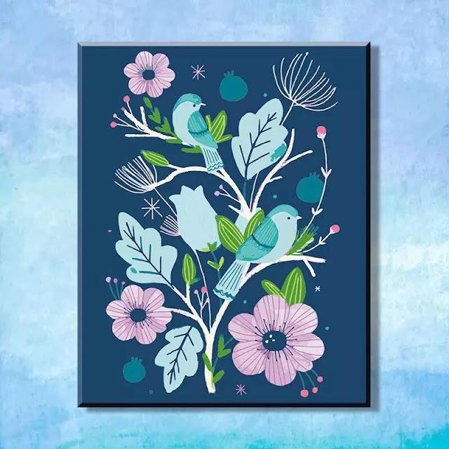 Tranh son dau so hoa tai Quang Tien