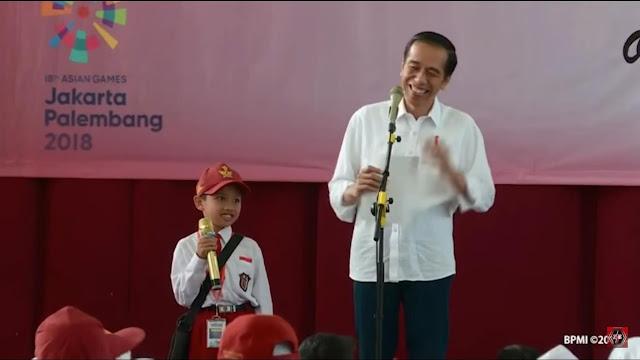 Survei Median: Jokowi Unggul Telak dari Prabowo di Pemilih Tak Tamat SD