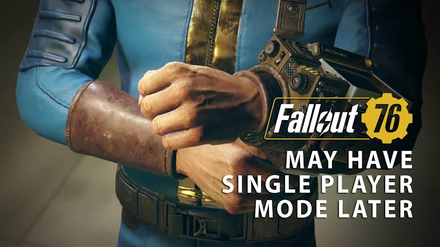 fallout 76 single player mode