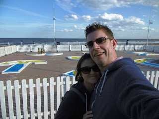 Foreshore Sands Crazy Golf course in Bridlington