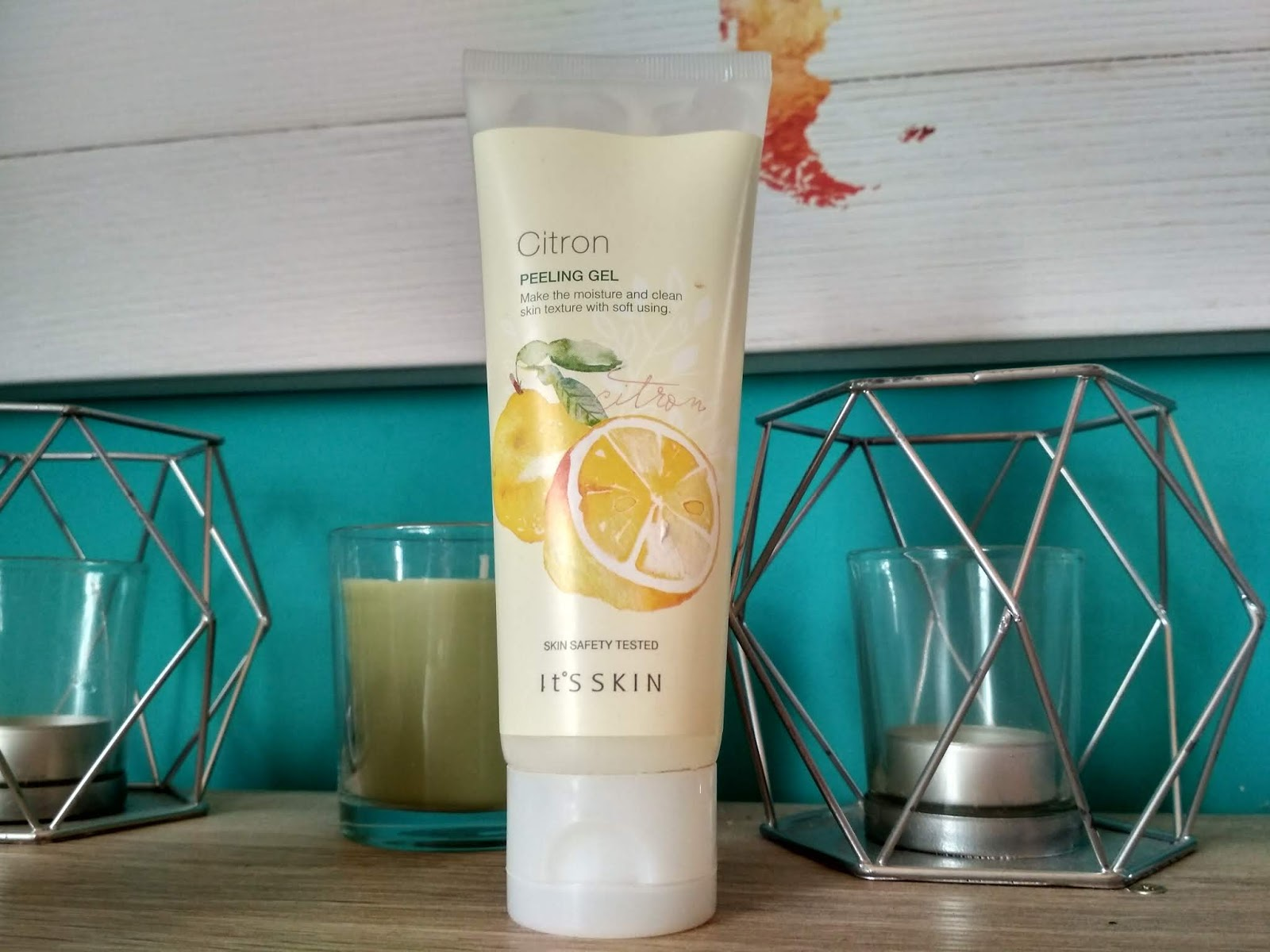 Recenzja - It's skin Citron peeling gel