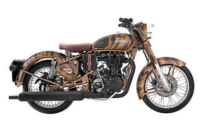 Royal Enfield Classic 500 Desert Storm cruiser motorcycle