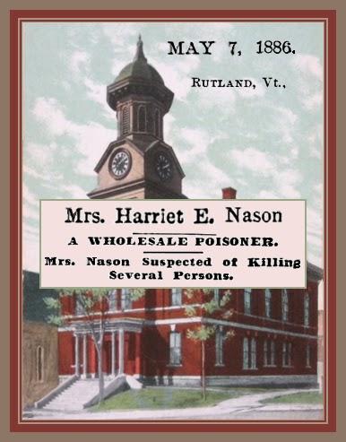Unknown Gender History: Harriet E  Nason, Vermont Serial