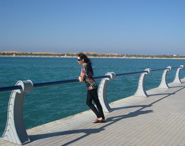 Paseo marítimo de Abu Dabi