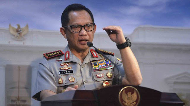 Kapolri Ganti Kapolda Jawa Barat