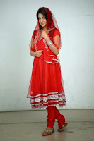 Sakshi Chowdary New Glam Photo Shoot in Red HeyAndhra