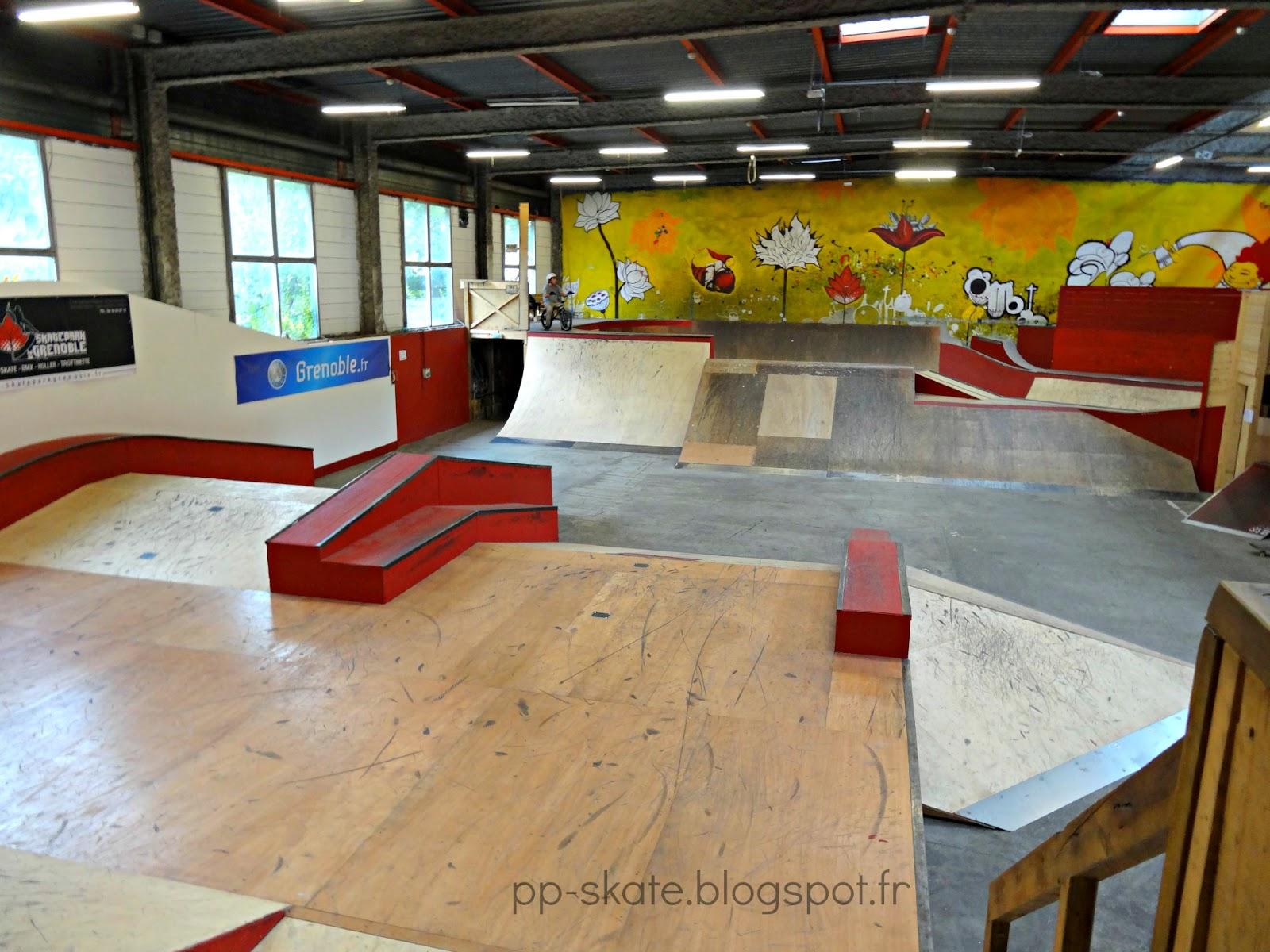 skatepark couvert Grenoble La Bifurk