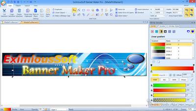 Screenshot EximiousSoft Banner Maker Pro 3.01 Full Version
