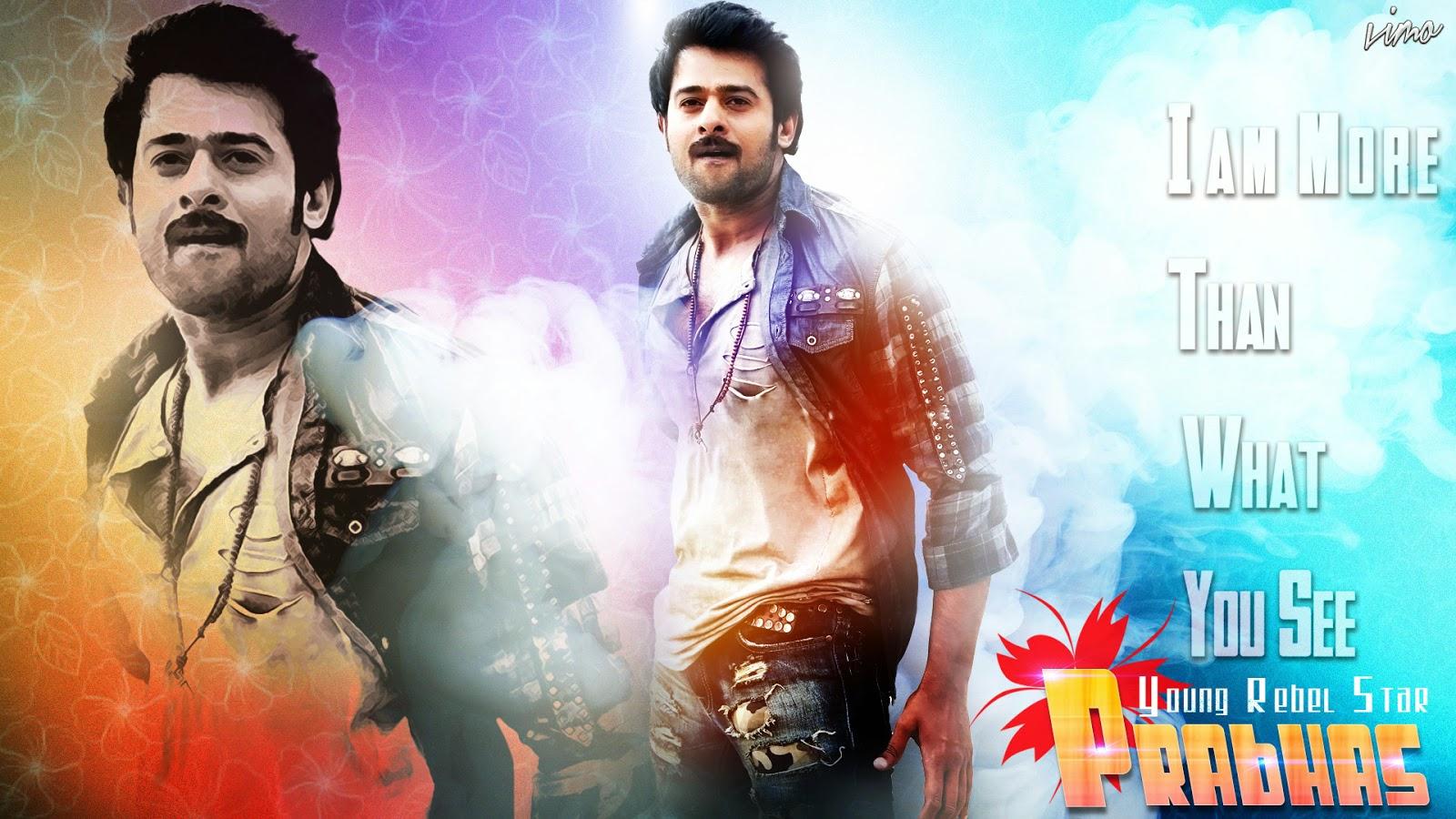 Best Actor Prabhas Hd Wallpaper: South Indian Actress Prabhas Raju HD Wallpaper Desktop