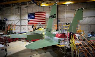 Jet Tempur F-15EX