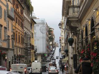 per le strade di Roma