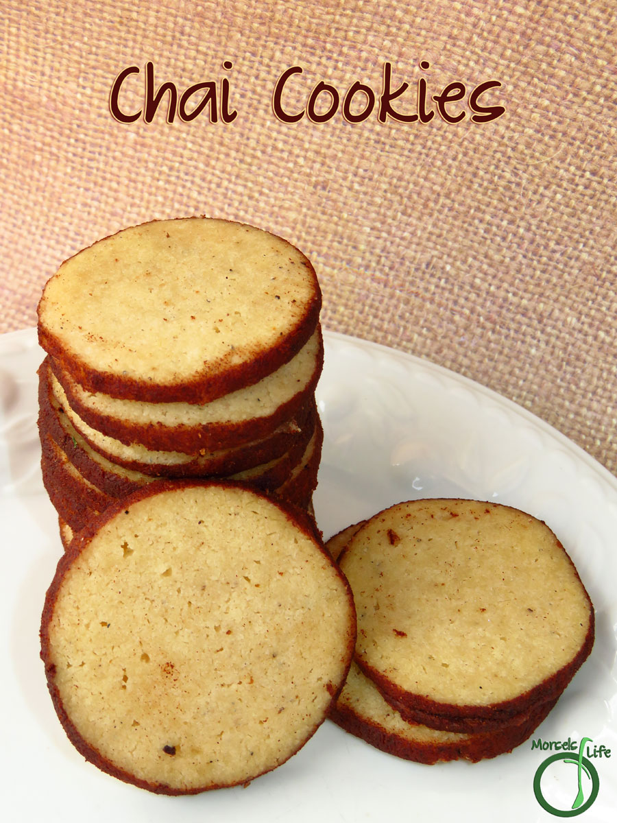 Morsels of Life - Chai Cookies - Enjoy all the goodness and spice of chai tea in cookie form!