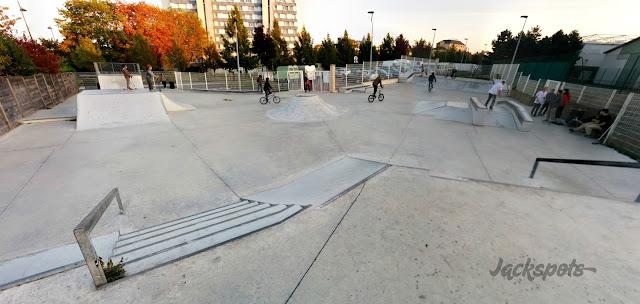 Skate park Plessis Robinson