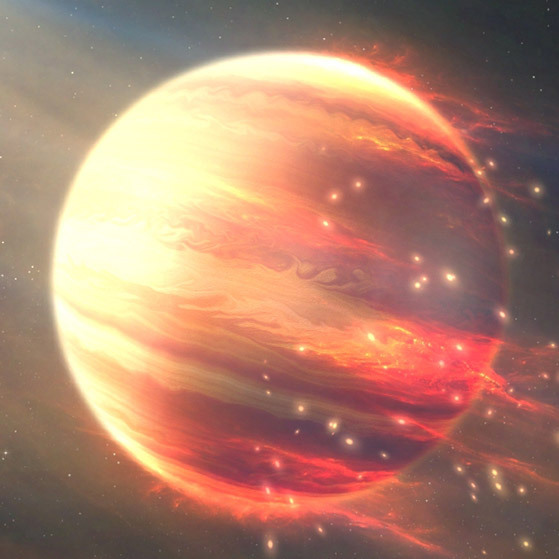 Burning Planet Wallpaper Engine