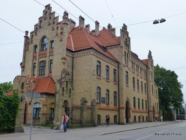 Primer Hospital de Riga en calle Bruninieku nº5