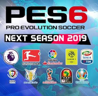 PES 6 Next Season Patch 2019 Season 2018/2019
