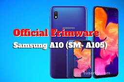 Official Firmware Samsung A10 SM-A105
