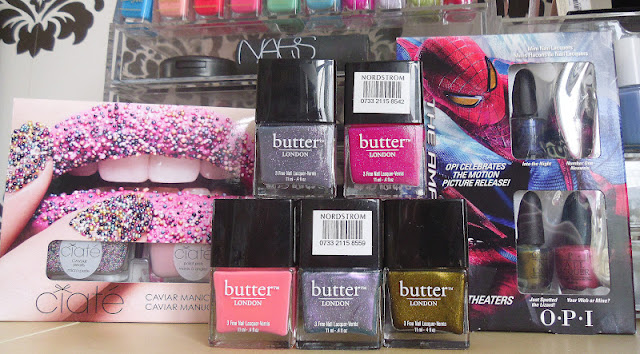 Butter London Nail Polish Haul