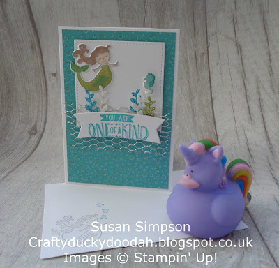 Stampin' Up! UK Independent  Demonstrator Susan Simpson, Craftyduckydoodah!, Magical Day, January 2018 Coffee & Cards project, Supplies available 24/7 from my online store,