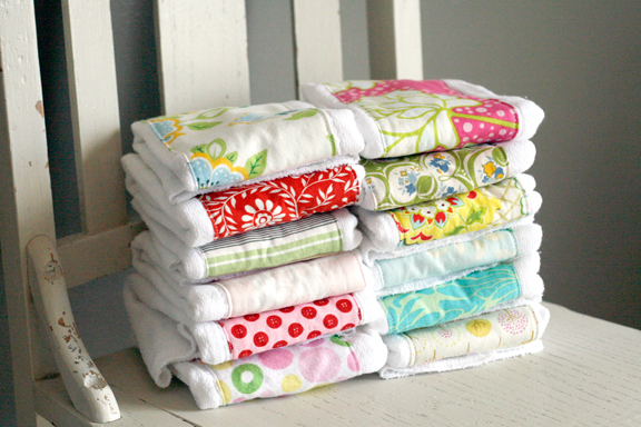 MORE Trendy Baby Burp Cloths! - One Good Thing by Jillee