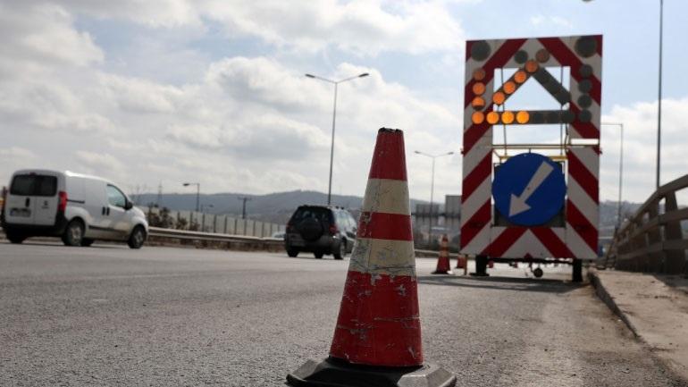 Εργασίες συντήρησης από την Περιφέρεια Κεντρικής Μακεδονίας στην Εθνική Οδό Θεσσαλονίκης-Νέων Μουδανιών