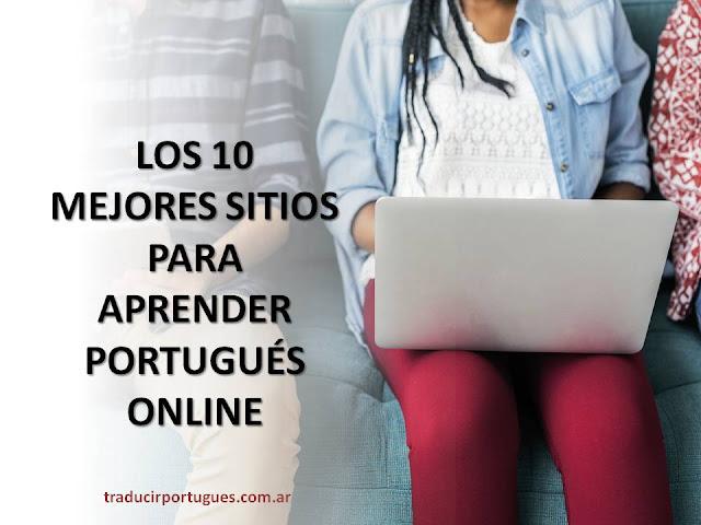 aprender, portugués, gratis, online, traducciones