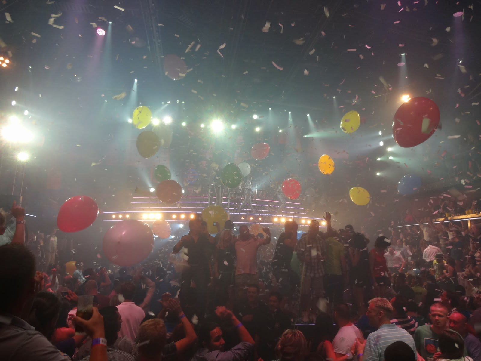 festa na boate CocoBongo - Cancún