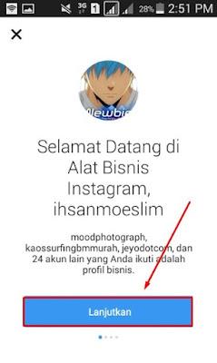 Cara Membuat Profil Bisnis di Instagram
