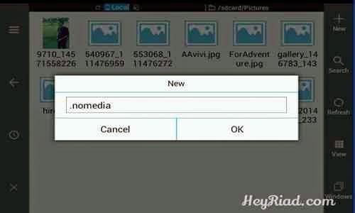 Cara Menyembunyikan Foto Video Suara Whatsapp di Android