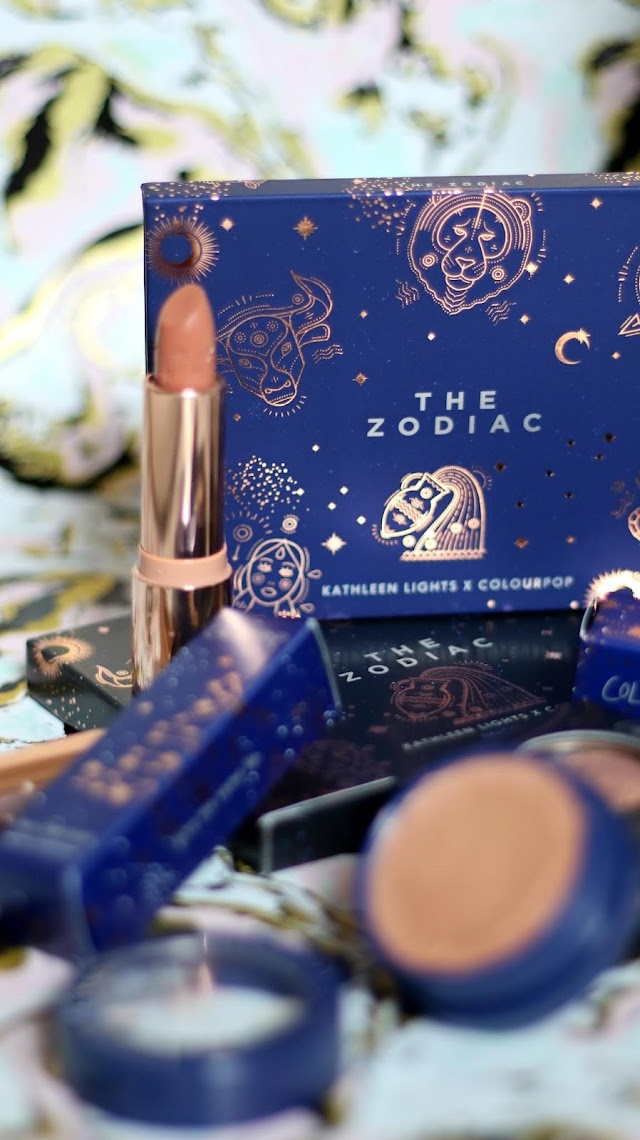 KathleenLights x ColourPop The Zodiac - Full Collection First Impressions + Swatches