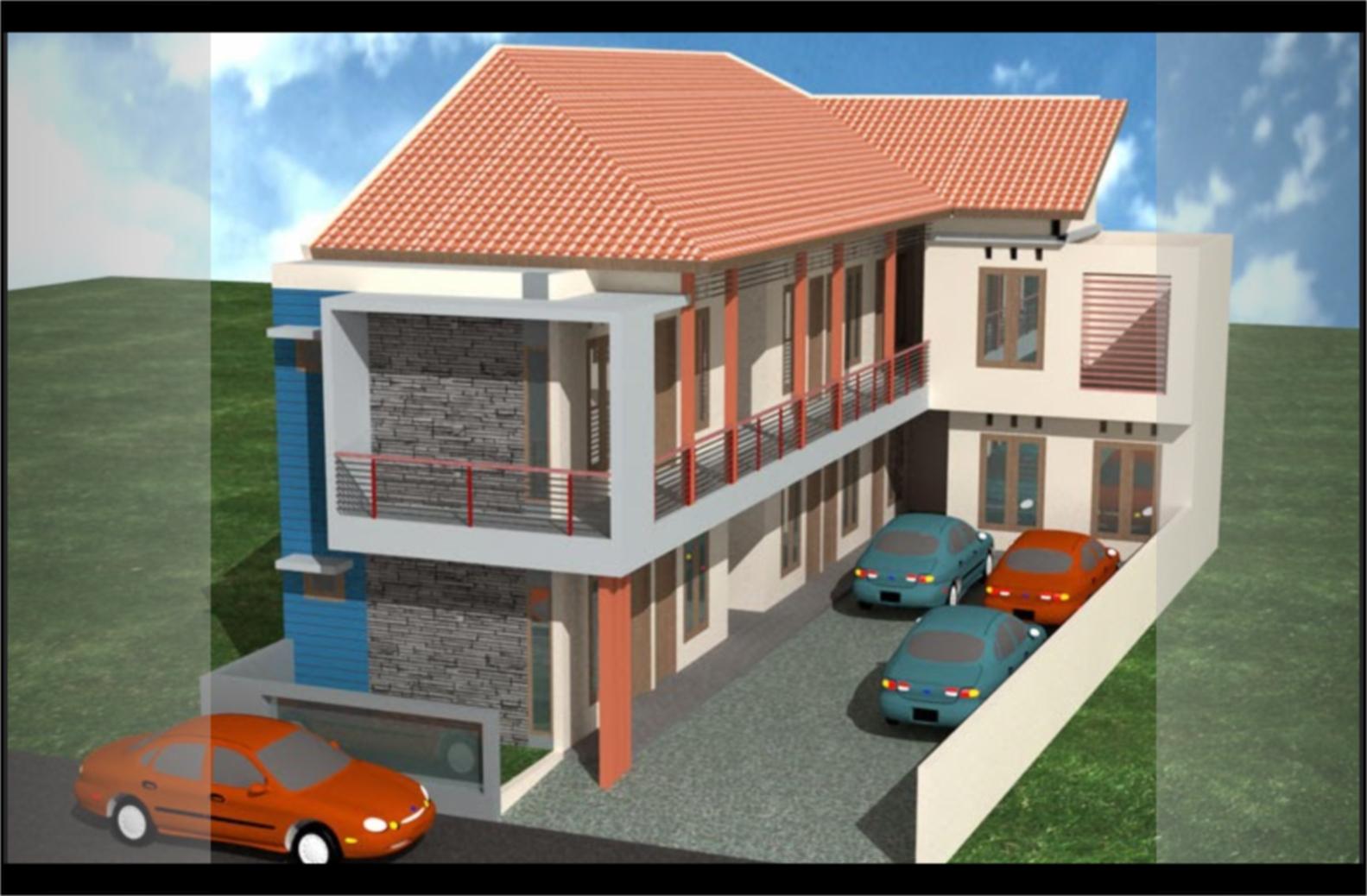 47 Gambar Model Rumah Leter L Minimalis