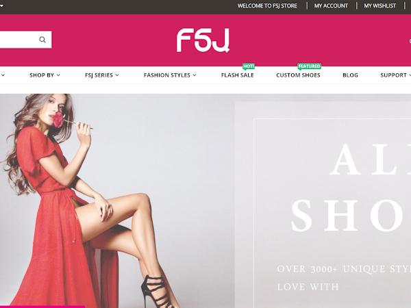 Loja Online: FSJ Shoes