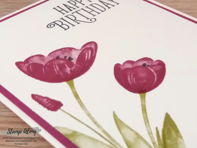 Stampin'Up! Tranquil Tulips