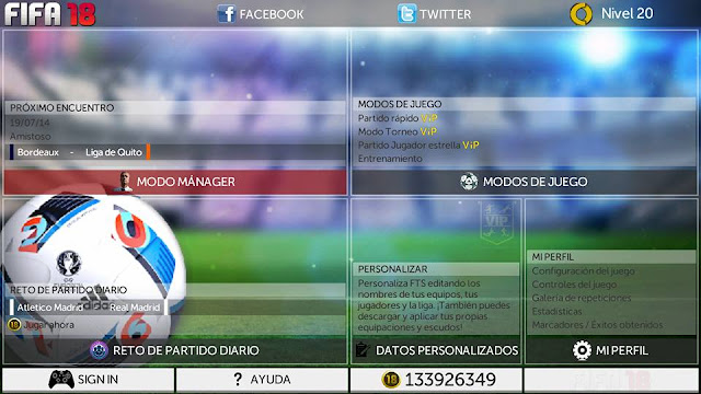 First Touch Soccer Fifa 2018 APK
