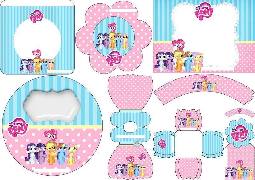 My Little Pony: Free Printable Mini Kit. - Oh My Fiesta! for Geeks